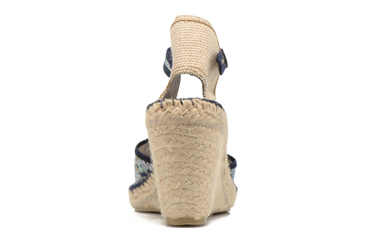 Sandals Pare Gabia Katy Multicolor view from the right