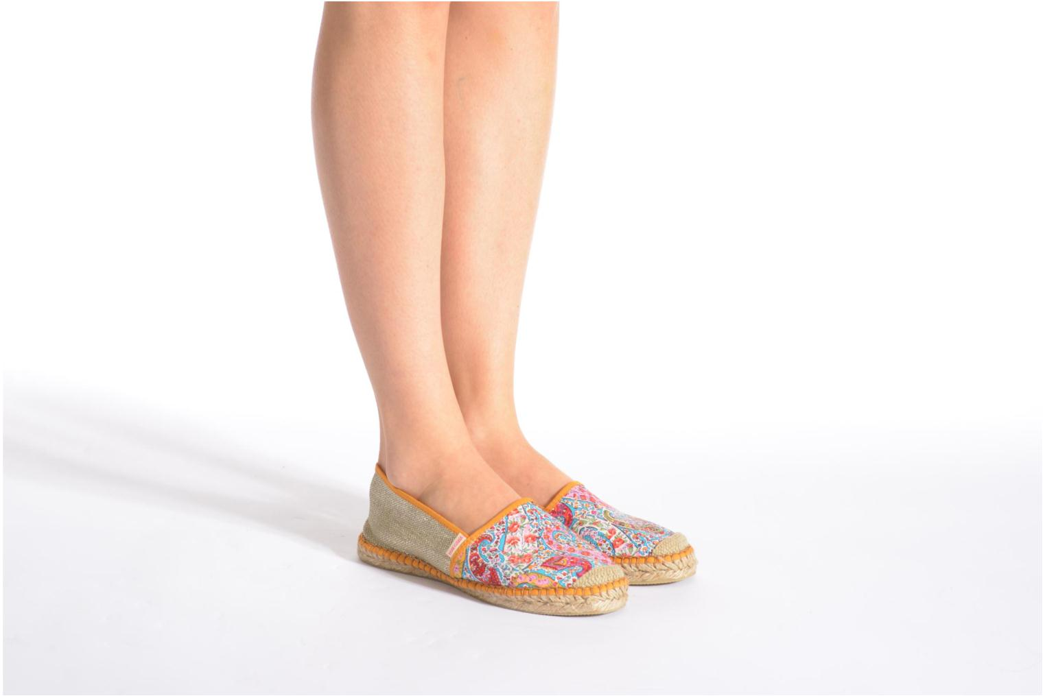 Espadrilles Pare Gabia VP mix Pink view from underneath / model view