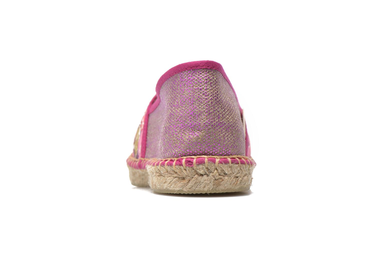 Espadrilles Pare Gabia VP mix Pink view from the right