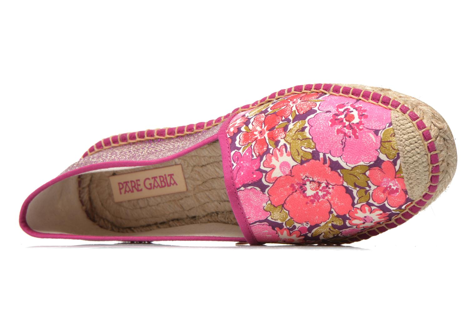 Espadrilles Pare Gabia VP mix Pink view from the left