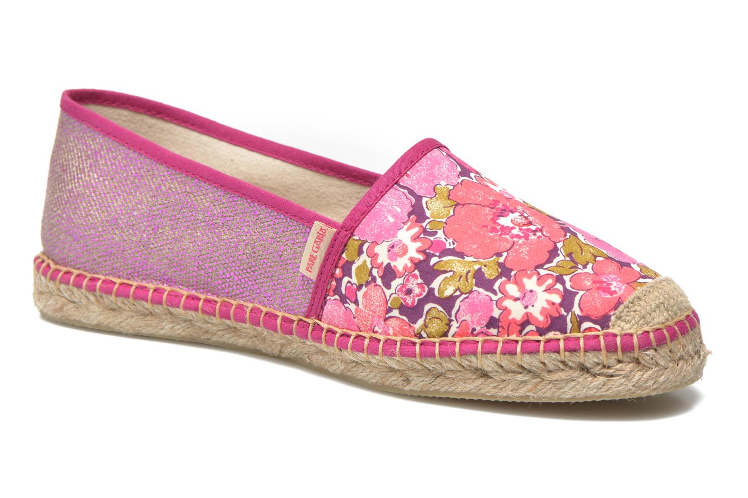 Espadrilles Pare Gabia VP mix Pink detailed view/ Pair view