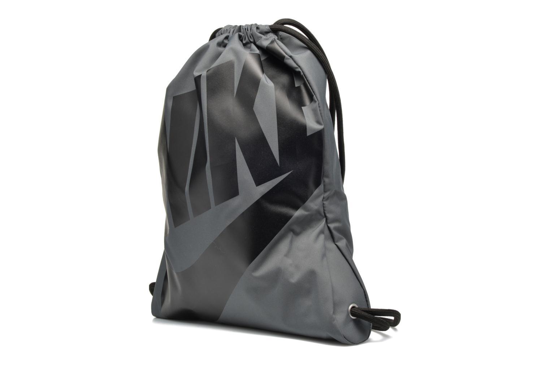 Sports bags Nike NIKE HERITAGE GYMSACK Grey model view