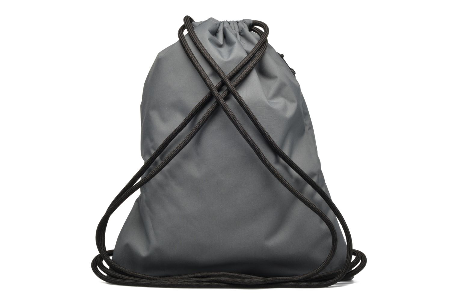 Sports bags Nike NIKE HERITAGE GYMSACK Grey front view