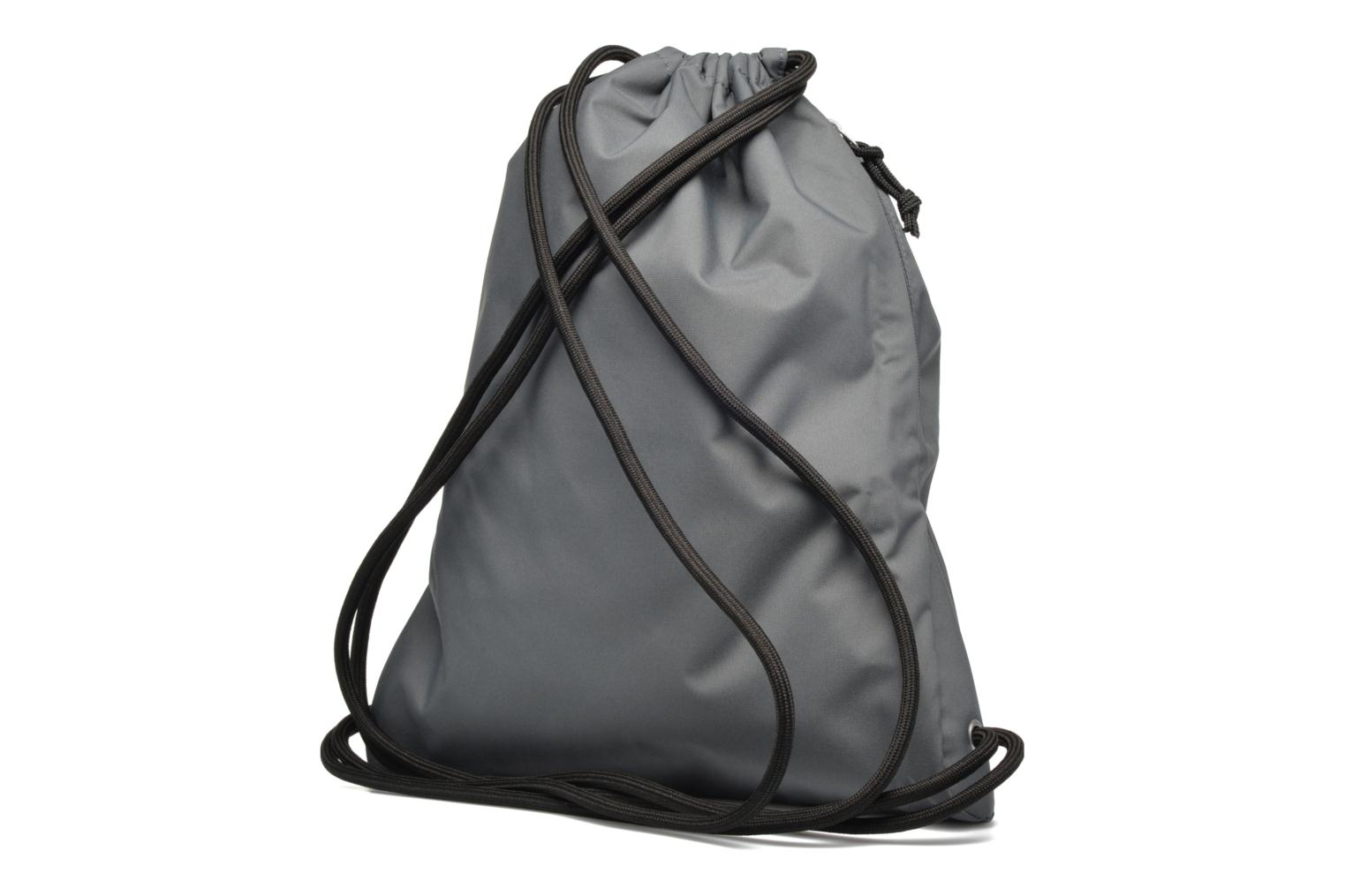 Sports bags Nike NIKE HERITAGE GYMSACK Grey view from the right