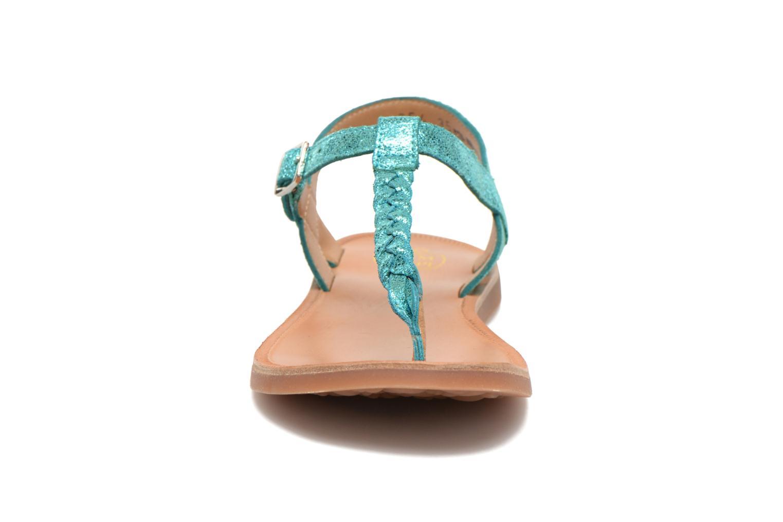 Sandals Pom d Api Plagette Antic Tong Blue model view