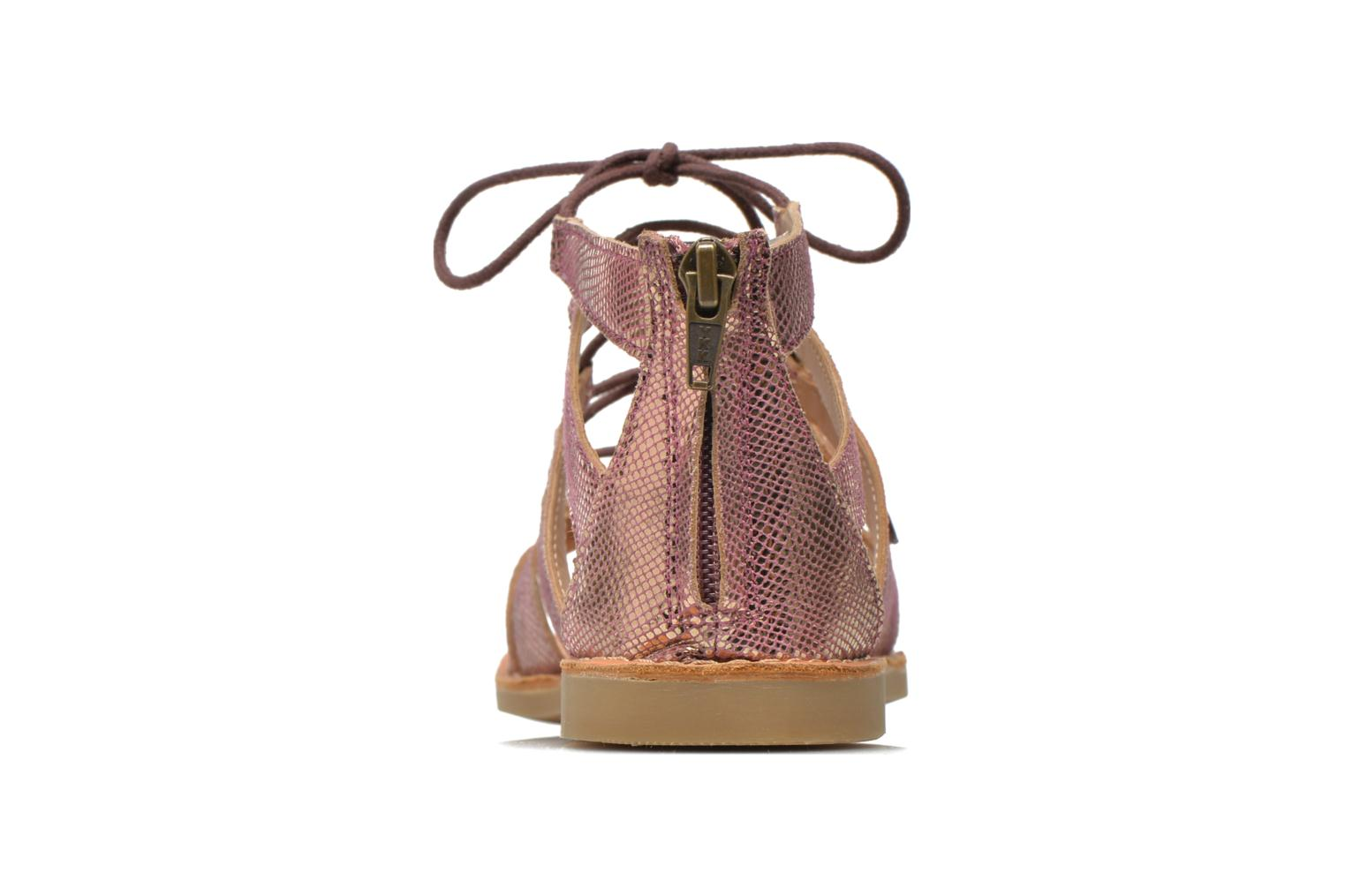 Sandals Shwik Lazar Hi Lace Pink view from the right