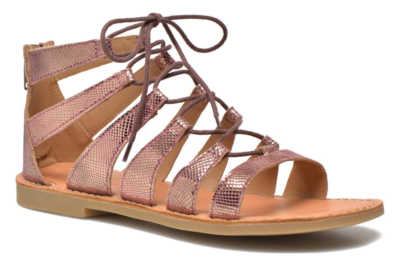 Sandals Shwik Lazar Hi Lace Pink detailed view/ Pair view