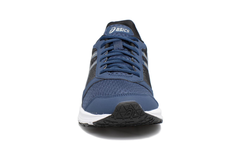 Sportschuhe Asics Patriot 8 blau schuhe getragen