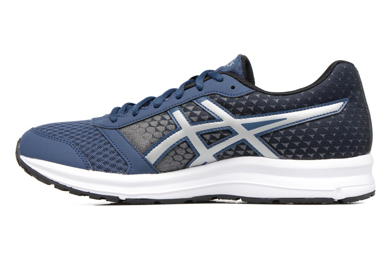 Chaussures de sport Asics Patriot 8 Bleu vue face