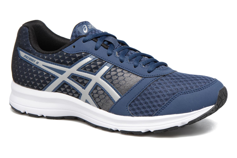 Chaussures de sport Asics Patriot 8 Bleu vue détail/paire