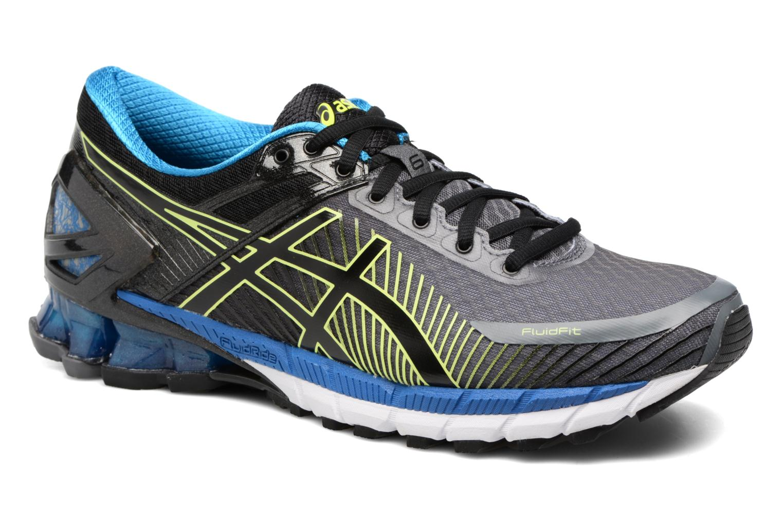 Chaussures de sport Asics Gel-Kinsei 6 Noir vue détail/paire