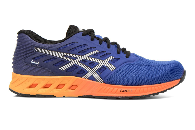 Sport shoes Asics Fuzex Blue back view