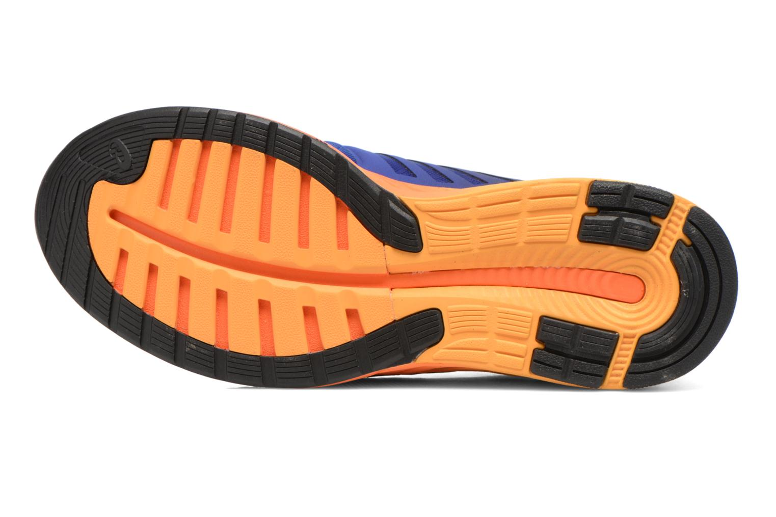 Sport shoes Asics Fuzex Blue view from above