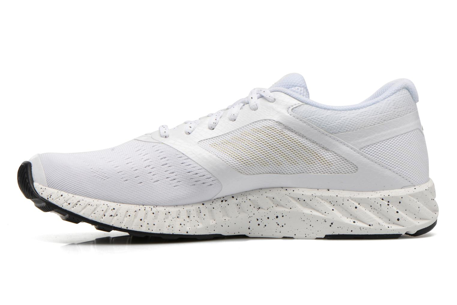 Sport shoes Asics Fuzex Lyte White front view