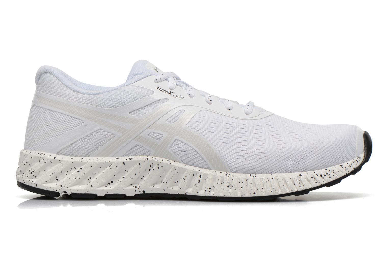 Sport shoes Asics Fuzex Lyte White back view
