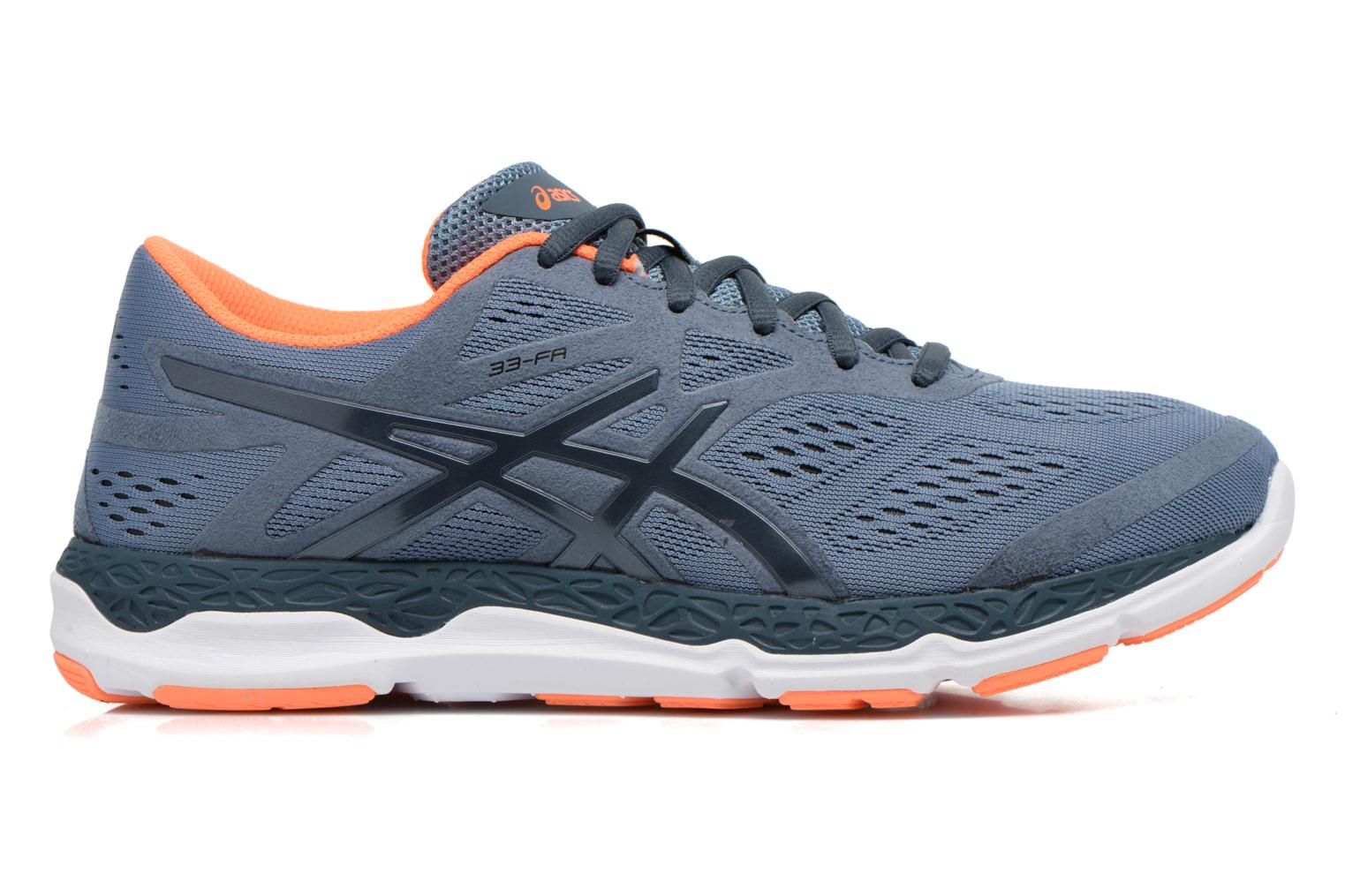 Sport shoes Asics 33-FA Grey back view