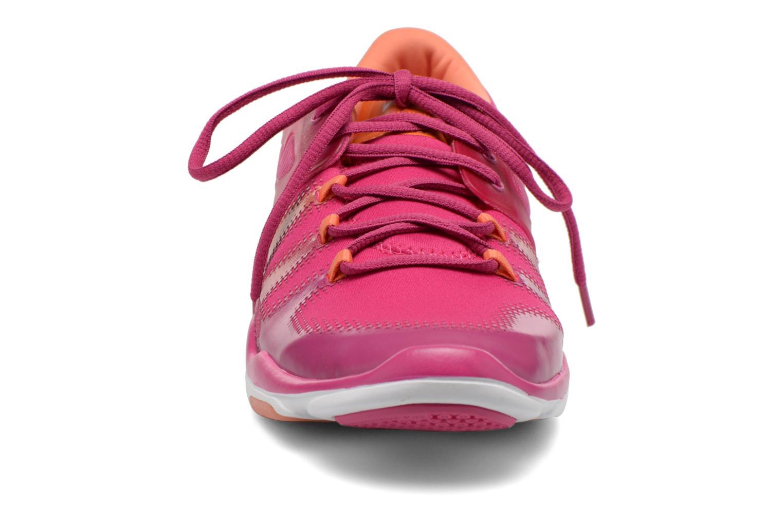 Chaussures de sport Asics Gel-Fit Vida Rose vue portées chaussures