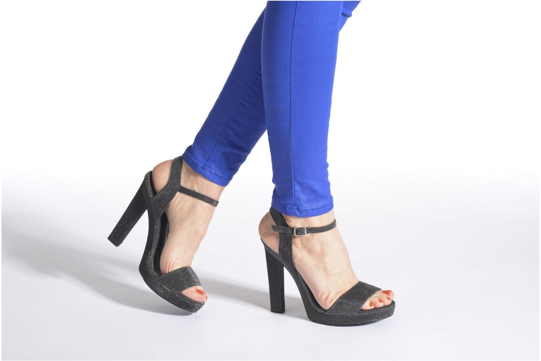 Sandales et nu-pieds Blink Keel Noir vue bas / vue portée sac