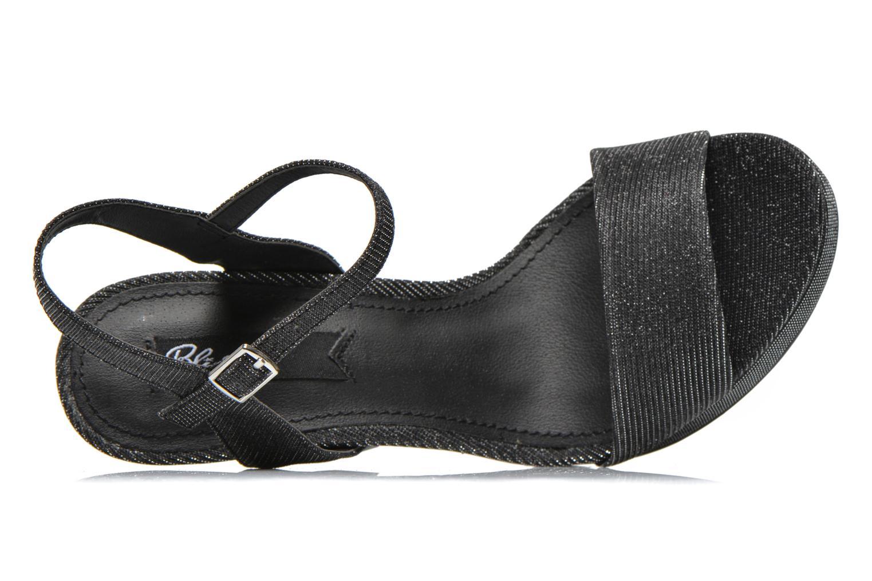 Sandales et nu-pieds Blink Keel Noir vue gauche
