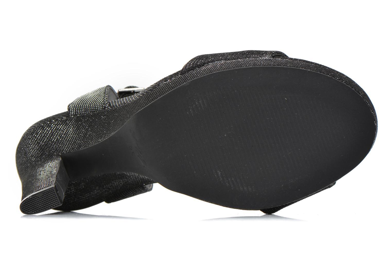 Sandales et nu-pieds Blink Keel Noir vue haut
