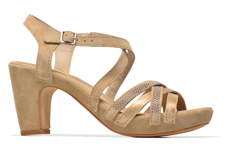 Sandales et nu-pieds Khrio Romina Beige vue derrière