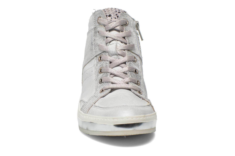 Baskets Khrio Liana Argent vue portées chaussures