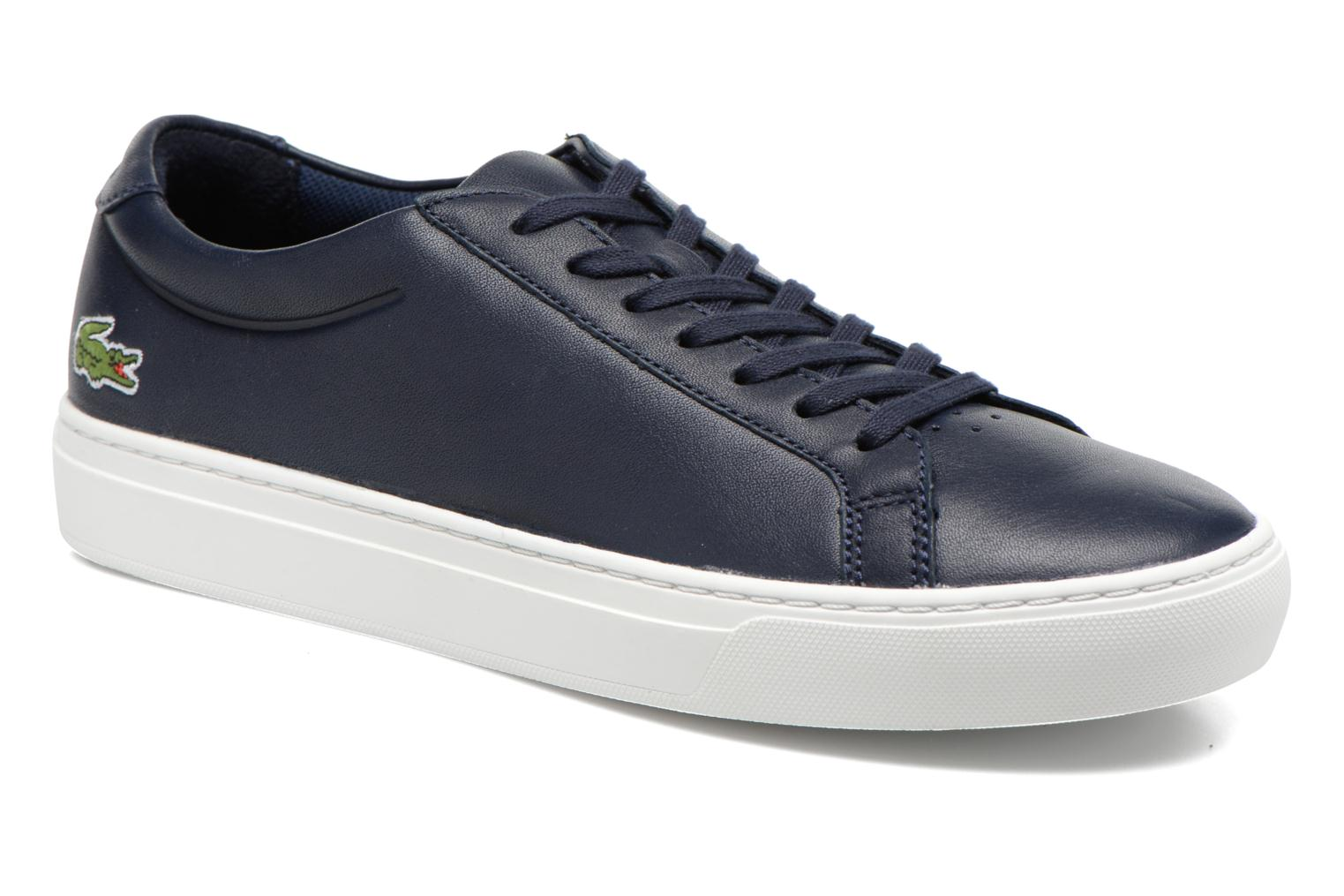 Trainers Lacoste L.12.12 116 1 Blue detailed view/ Pair view