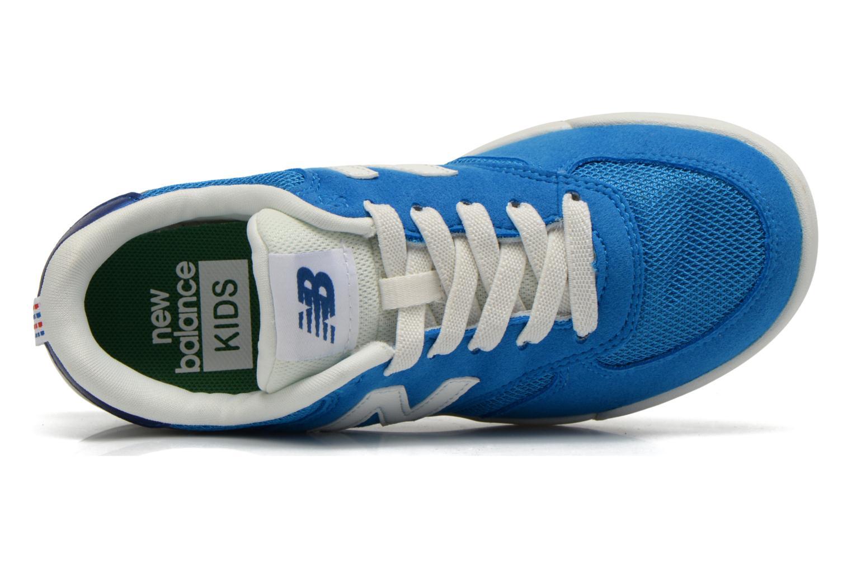 Baskets New Balance KT300 J Bleu vue gauche