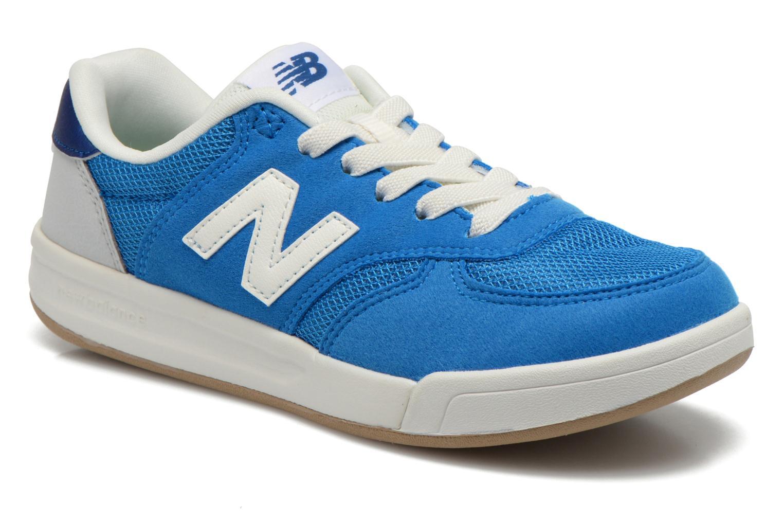Baskets New Balance KT300 J Bleu vue détail/paire