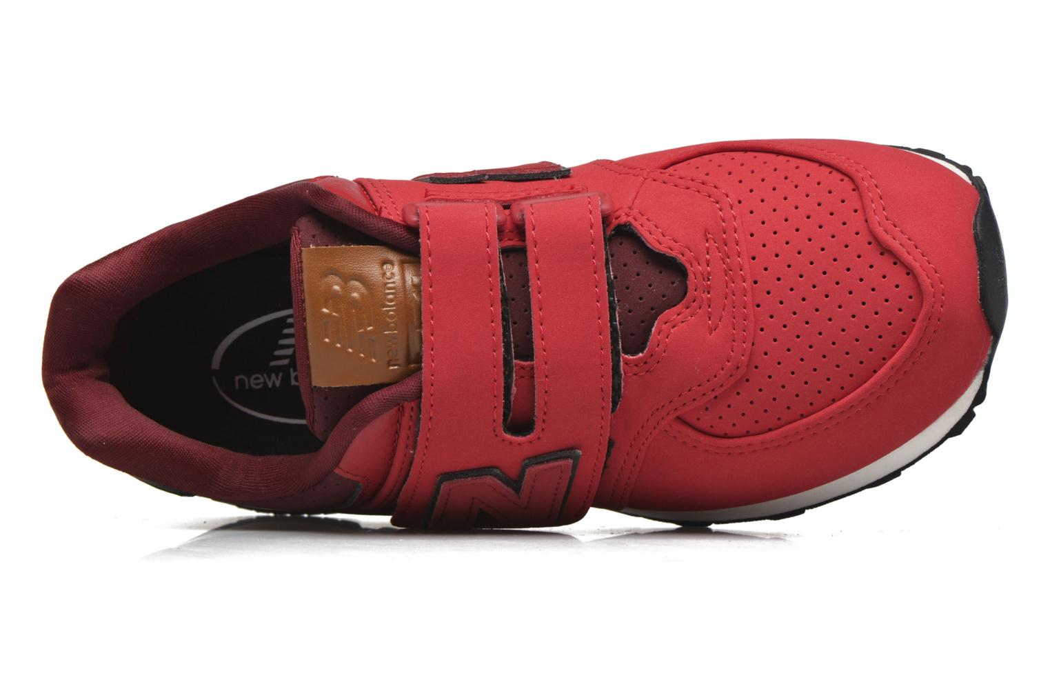 KV574 J YIY Red/Black