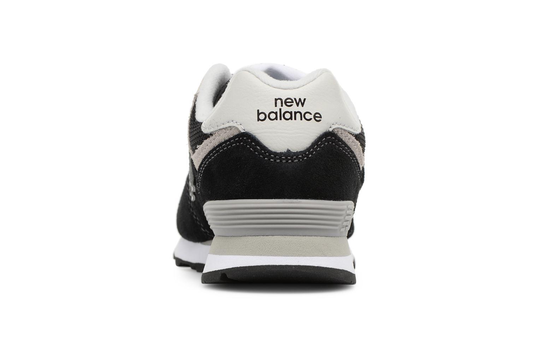 Baskets New Balance KV574 J Noir vue droite