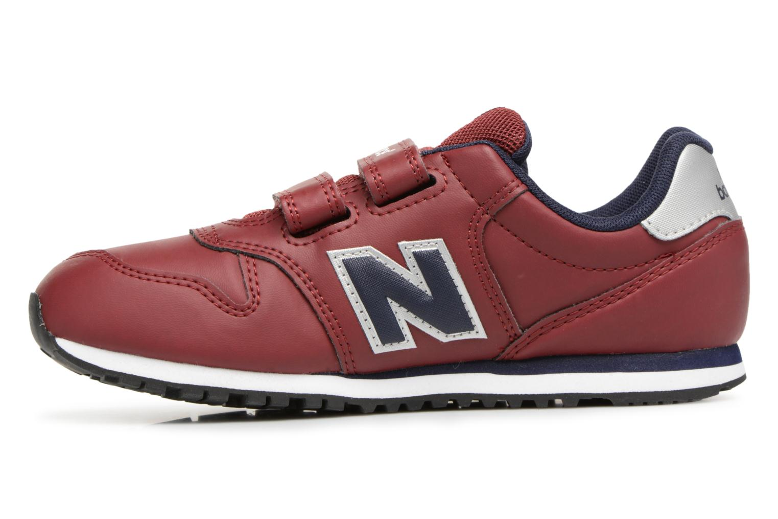 Trainers New Balance KV500 J Burgundy front view