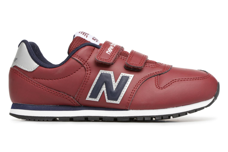 Sneaker New Balance KV500 J weinrot ansicht von hinten