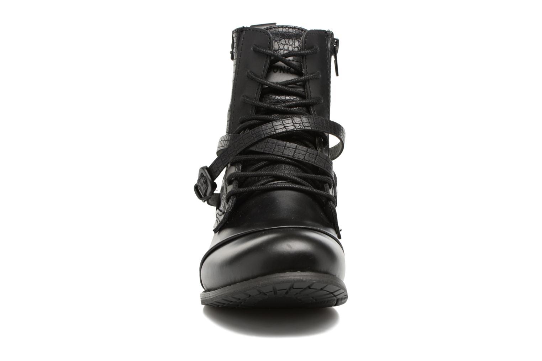 Bottines et boots Bunker Sara Kol Noir vue portées chaussures