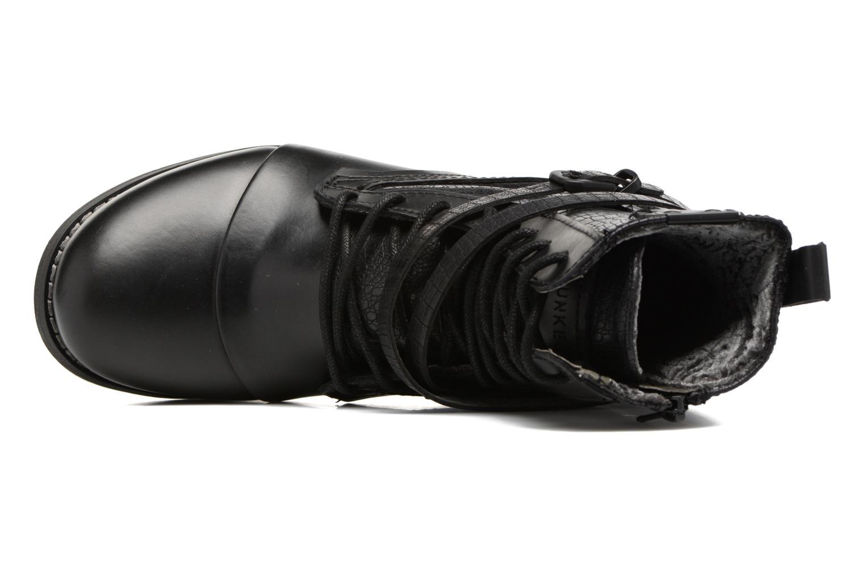 Bottines et boots Bunker Sara Kol Noir vue gauche