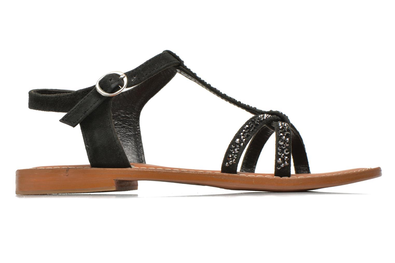 Sandales et nu-pieds L'Atelier Tropézien Coquette Noir vue derrière