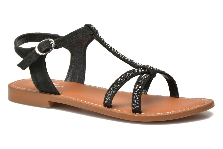 Marques Chaussure femme L'Atelier Tropézien femme Ava Black