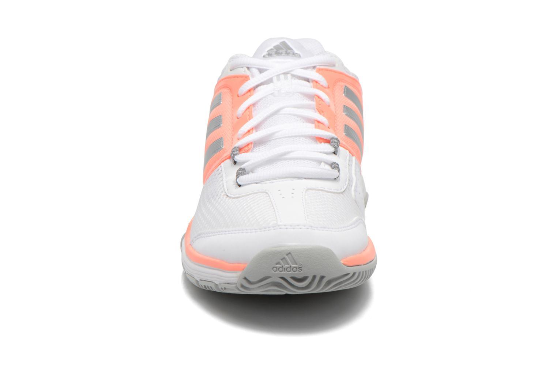 Chaussures de sport Adidas Performance Barricade Club W Blanc vue portées chaussures