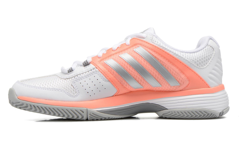 Chaussures de sport Adidas Performance Barricade Club W Blanc vue face
