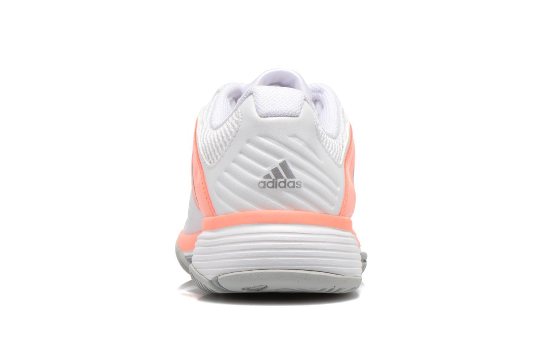 Chaussures de sport Adidas Performance Barricade Club W Blanc vue droite