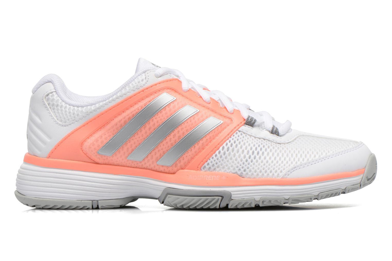 Chaussures de sport Adidas Performance Barricade Club W Blanc vue derrière