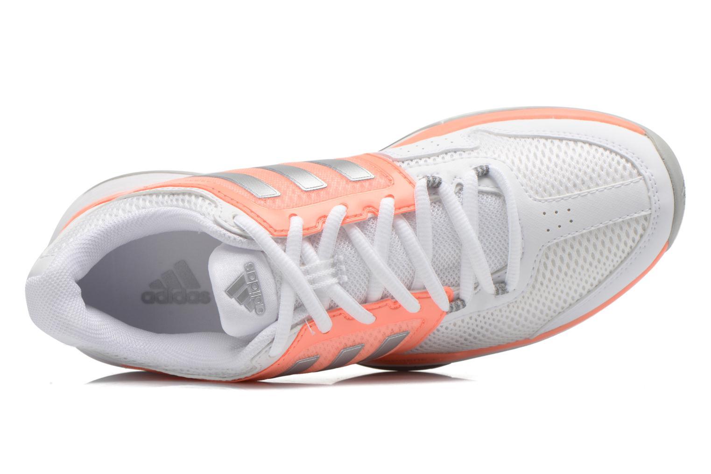 Chaussures de sport Adidas Performance Barricade Club W Blanc vue gauche