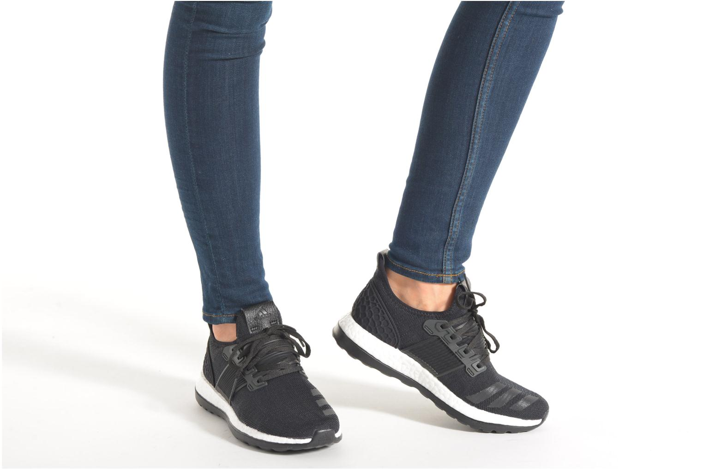 Chaussures de sport Adidas Performance Pureboost Zg Ltd Noir vue bas / vue portée sac