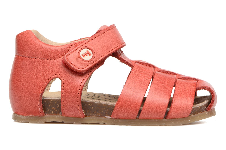Sandales et nu-pieds Naturino Gabriele 1405 Rouge vue derrière