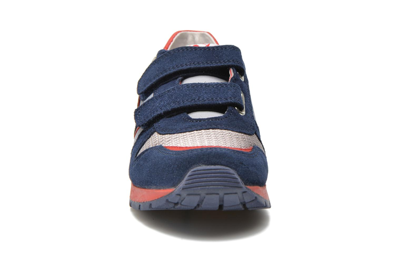 Baskets Naturino Bomba VL Bleu vue portées chaussures