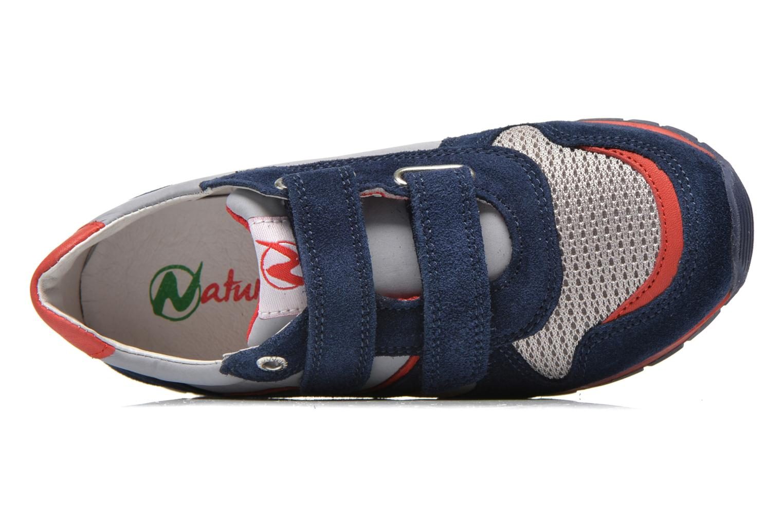 Baskets Naturino Bomba VL Bleu vue gauche