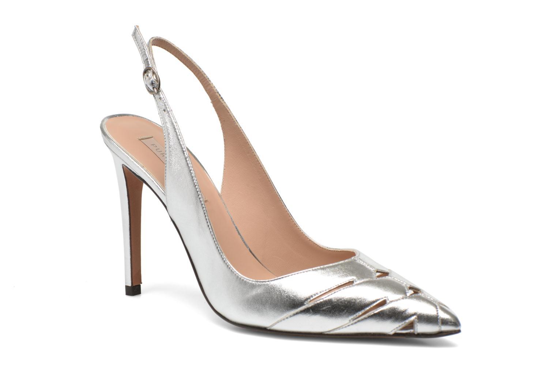 High heels Pura Lopez Carmen Silver detailed view/ Pair view