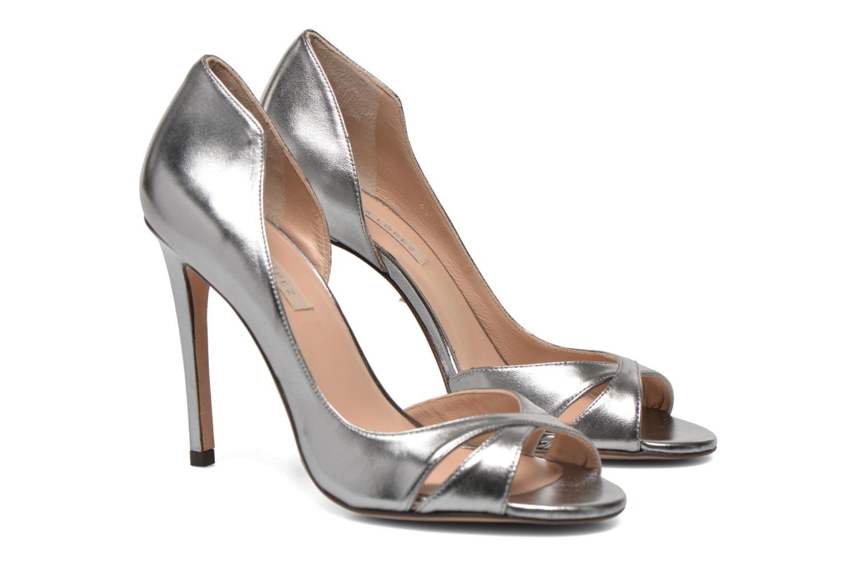 Zapatos de tacón Pura Lopez Elegante Plateado vista 3/4