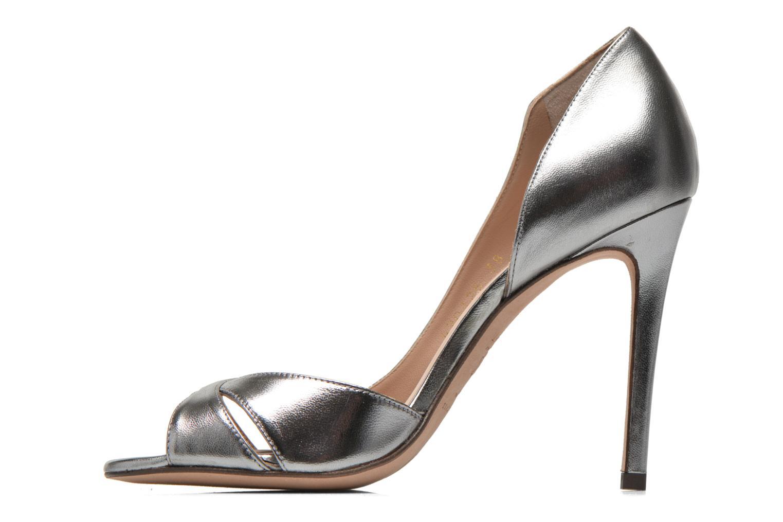 Zapatos de tacón Pura Lopez Elegante Plateado vista de frente