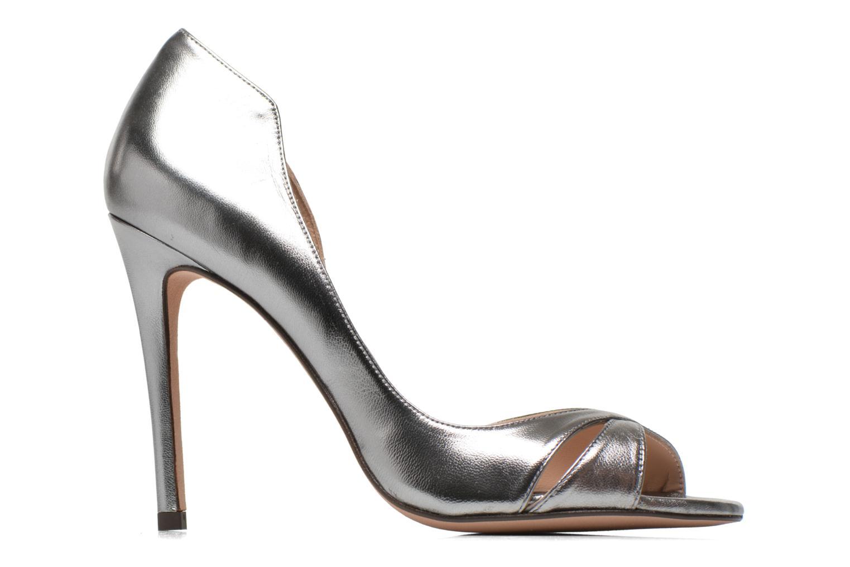 Zapatos de tacón Pura Lopez Elegante Plateado vistra trasera